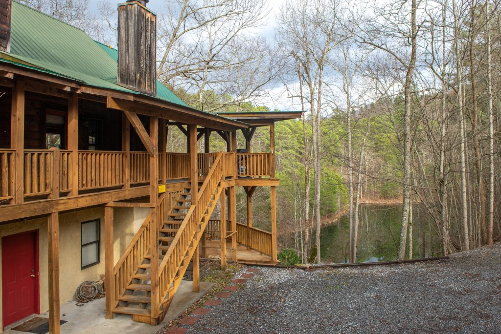 Photo of a Sevierville Cabin named Peak A View - This is the fortieth photo in the set.
