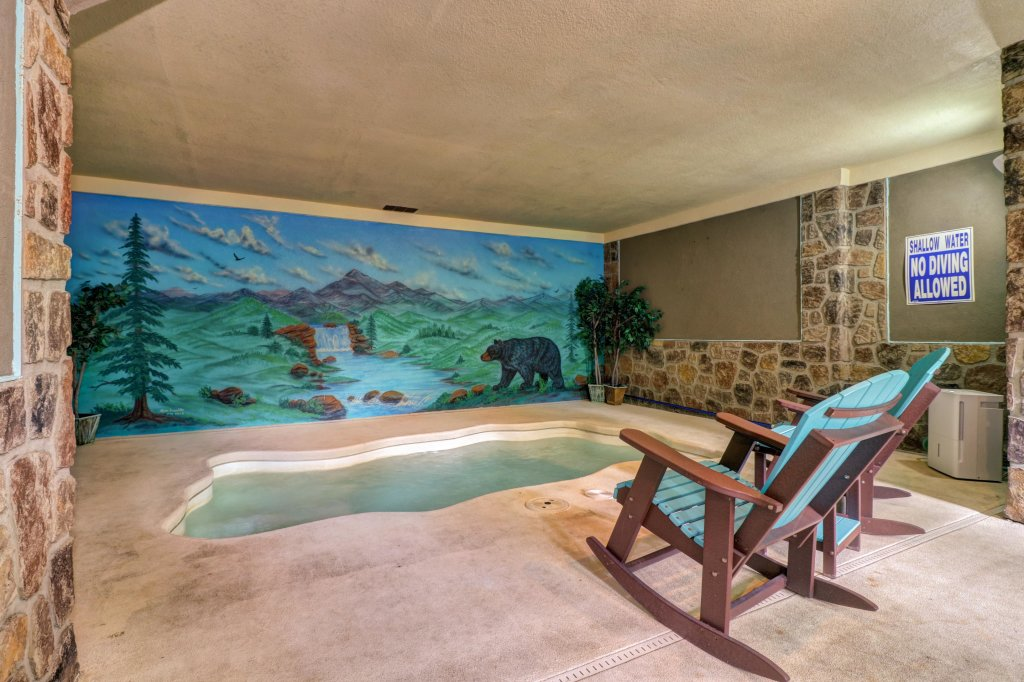 Photo of a Sevierville Cabin named Skinny Dippin - This is the thirty-second photo in the set.