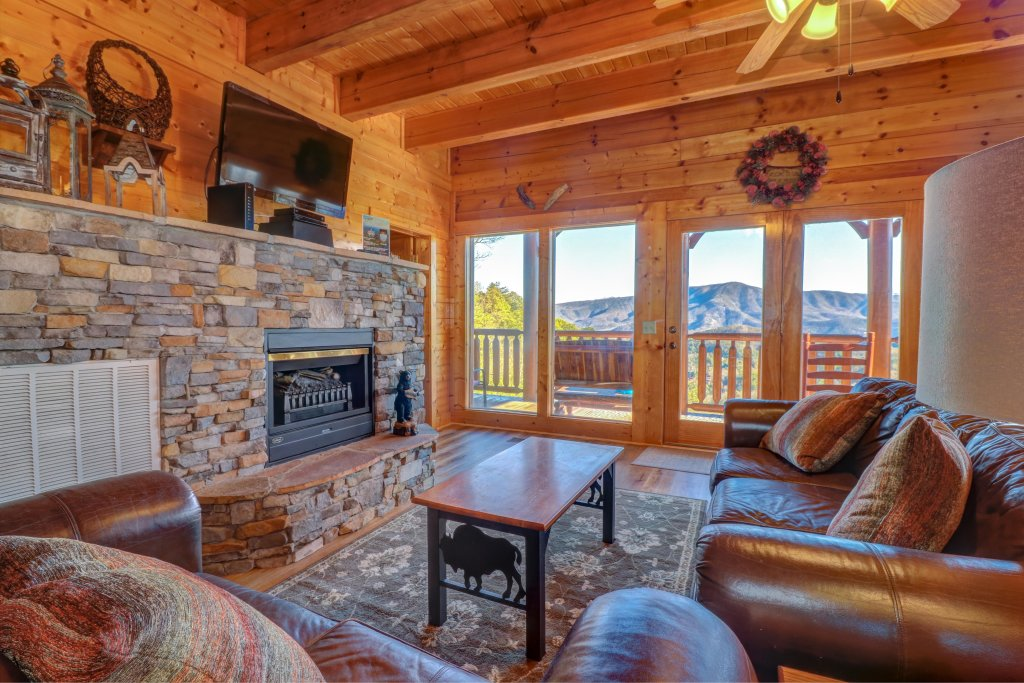 Photo of a Sevierville Cabin named A Higher Calling - This is the first photo in the set.
