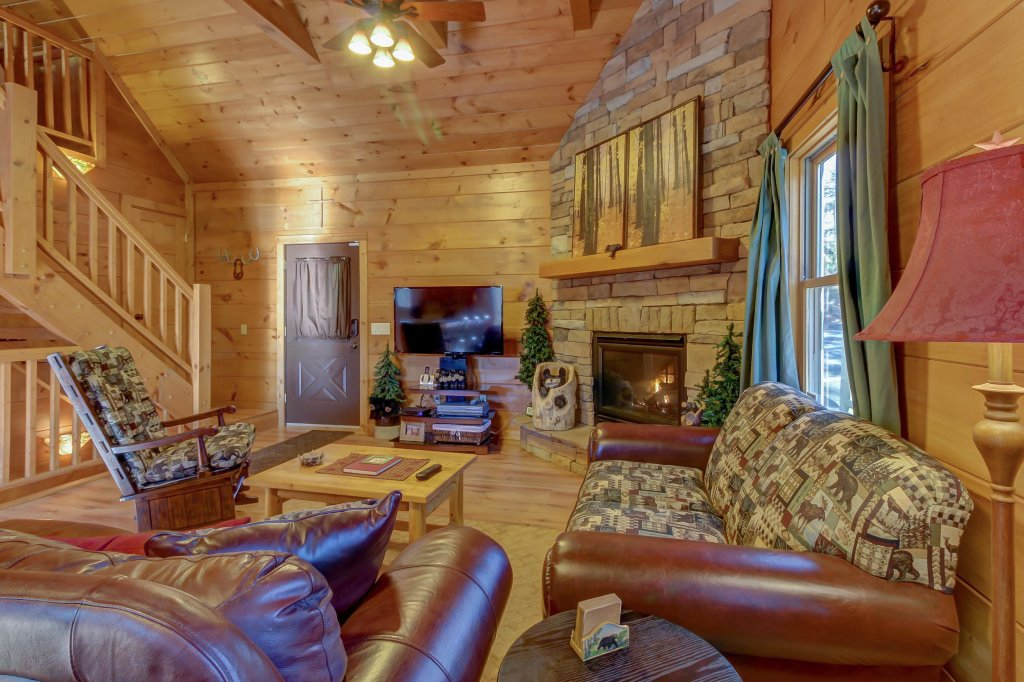 Photo of a Sevierville Cabin named Two Bears Cabin - This is the eighth photo in the set.