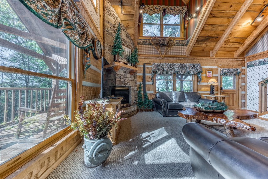 Photo of a Sevierville Cabin named Smokies Sanctuary Cabin - This is the seventh photo in the set.