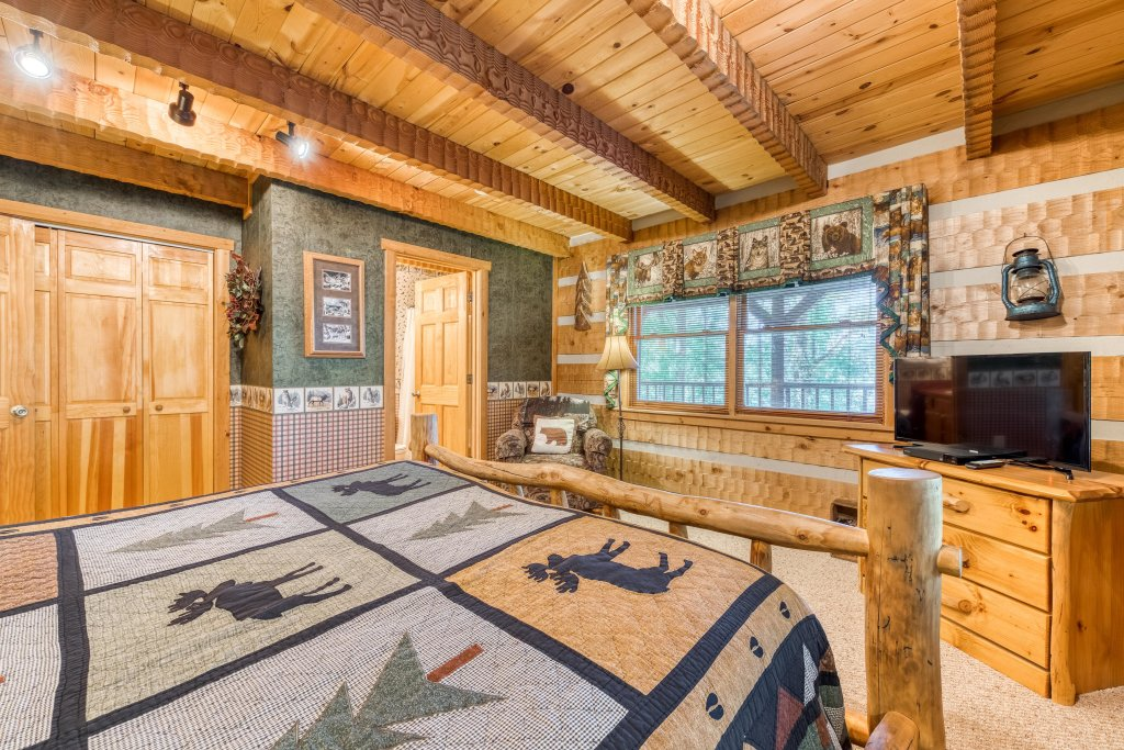 Photo of a Sevierville Cabin named Smokies Sanctuary Cabin - This is the twenty-third photo in the set.