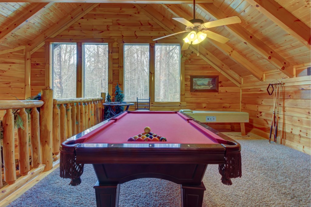 Photo of a Sevierville Cabin named Bearfoot Retreat Cabin - This is the fourth photo in the set.