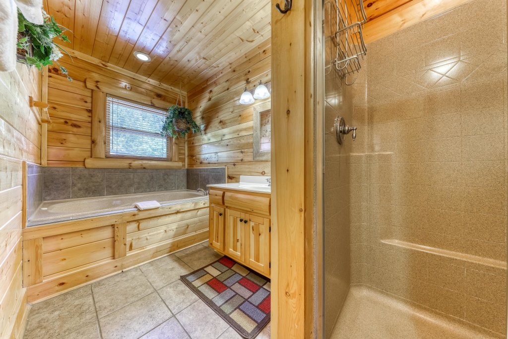 Photo of a Sevierville Cabin named Million Dollar View Cabin - This is the thirty-third photo in the set.