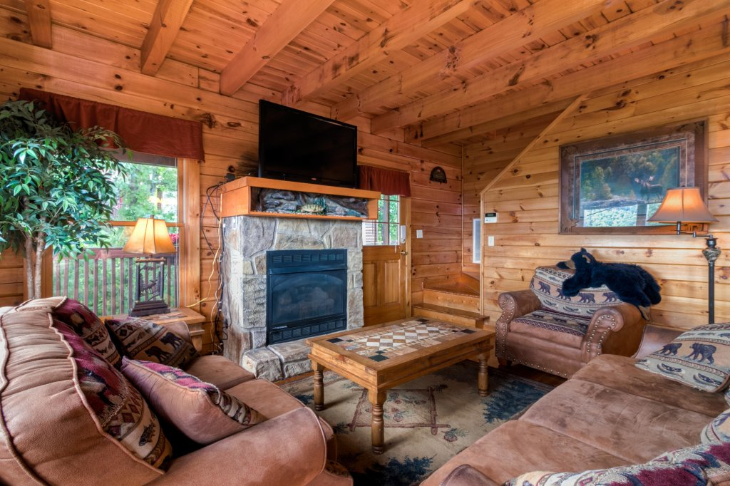 Photo of a Sevierville Cabin named Rendez-view Cabin - This is the first photo in the set.