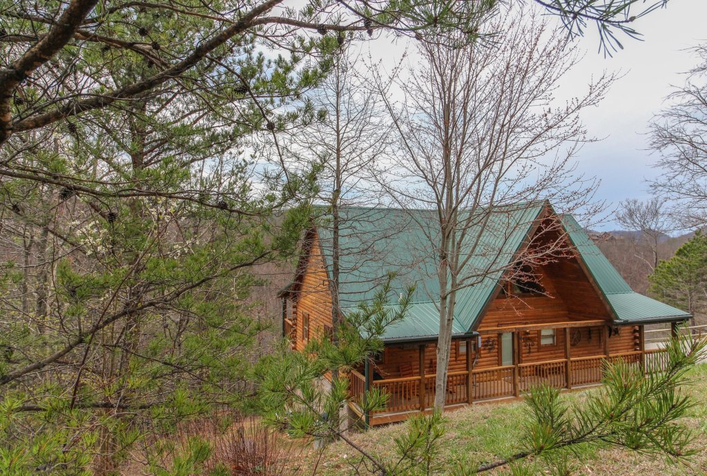 Photo of a Sevierville Cabin named Giddy Up Cabin - This is the twenty-sixth photo in the set.
