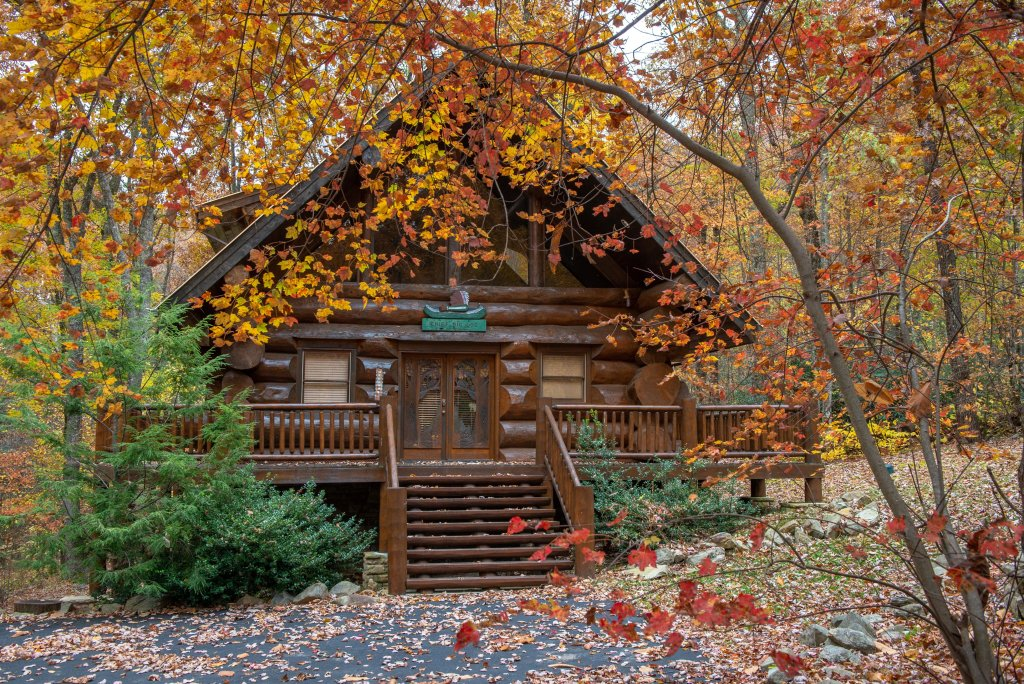 Photo of a Sevierville Cabin named Chief Big Log Cabin - This is the forty-third photo in the set.