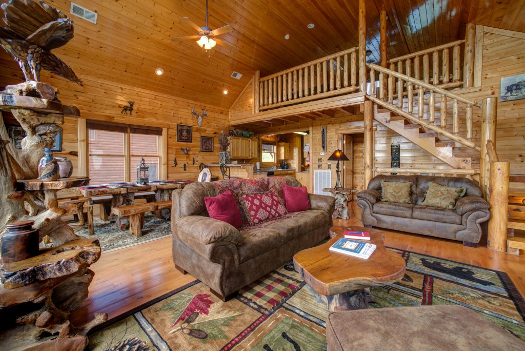 Photo of a Sevierville Cabin named Forget Me Knot Cabin - This is the thirty-first photo in the set.