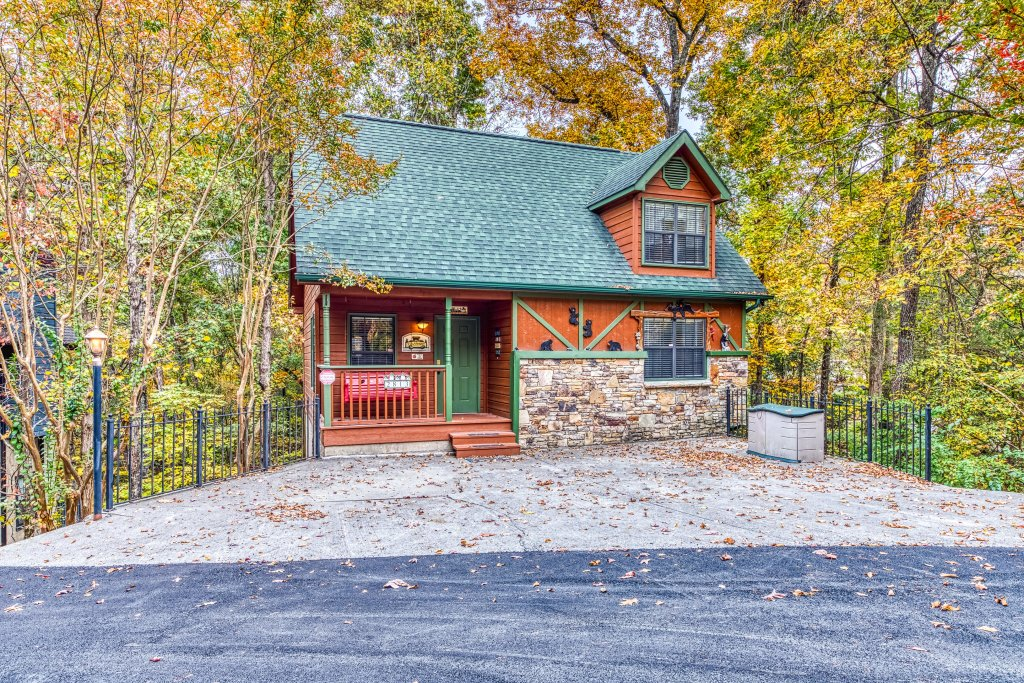 Photo of a Pigeon Forge Cabin named Gateway To The Smokies - This is the first photo in the set.