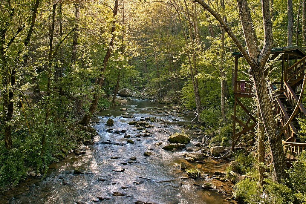 Photo of a Sevierville Cabin named Whispering Waters #208 - This is the first photo in the set.