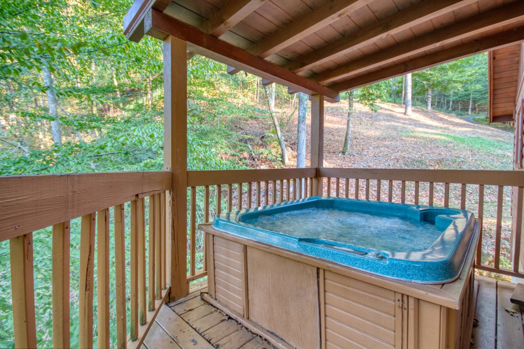 Photo of a Sevierville Cabin named Whispering Waters #208 - This is the third photo in the set.