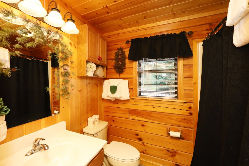 Photo of a Pigeon Forge Cabin named Cherokee Nights #132 - This is the eighteenth photo in the set.