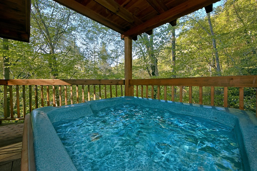 Photo of a Sevierville Cabin named Whispering Waters #208 - This is the twenty-fifth photo in the set.