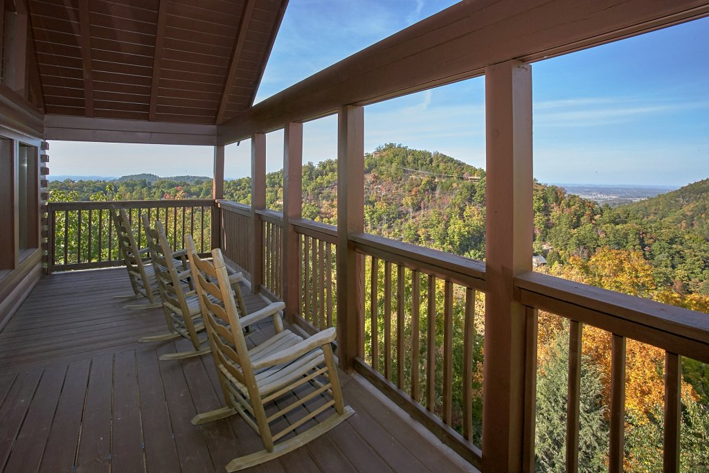 Photo of a Pigeon Forge Cabin named Evening View #133 - This is the first photo in the set.