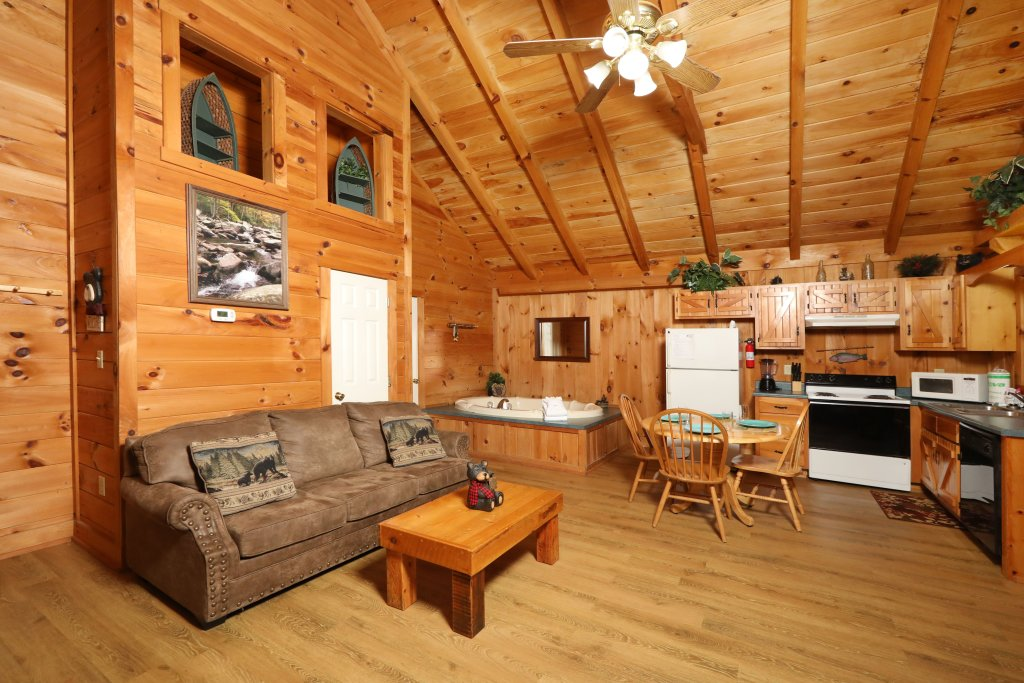 Photo of a Pigeon Forge Cabin named Creekside Tranquility #365 - This is the fourteenth photo in the set.