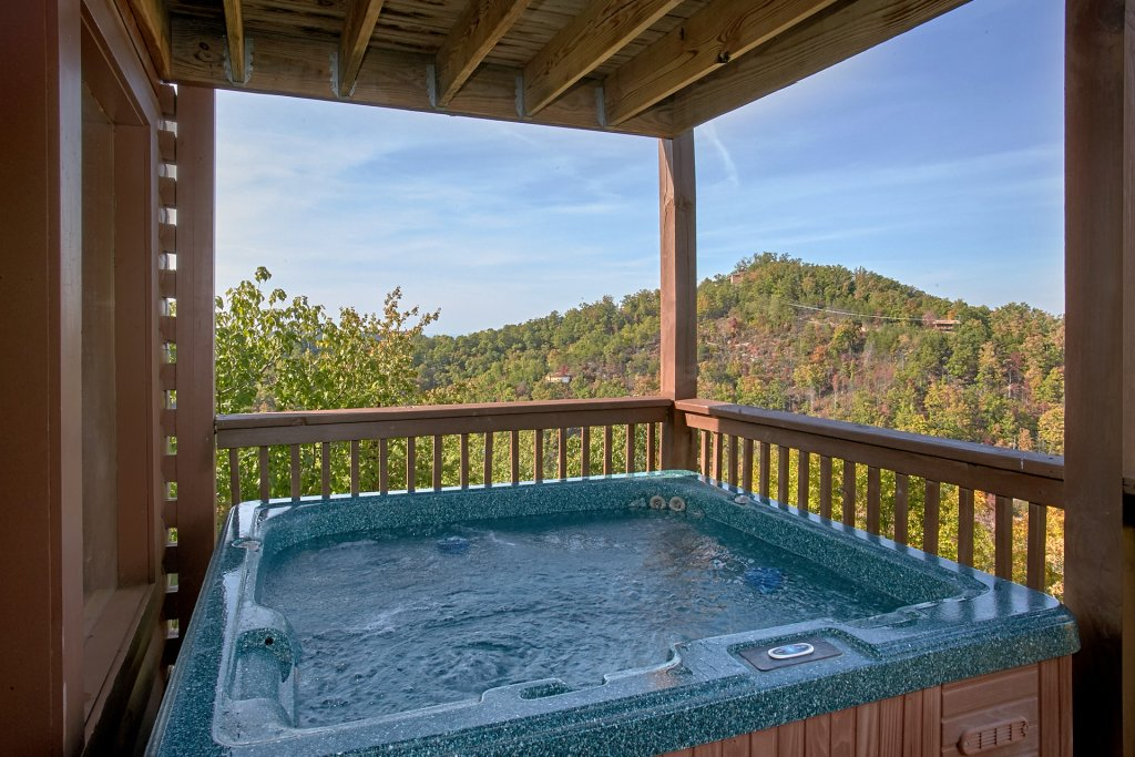 Photo of a Pigeon Forge Cabin named Evening View #133 - This is the tenth photo in the set.