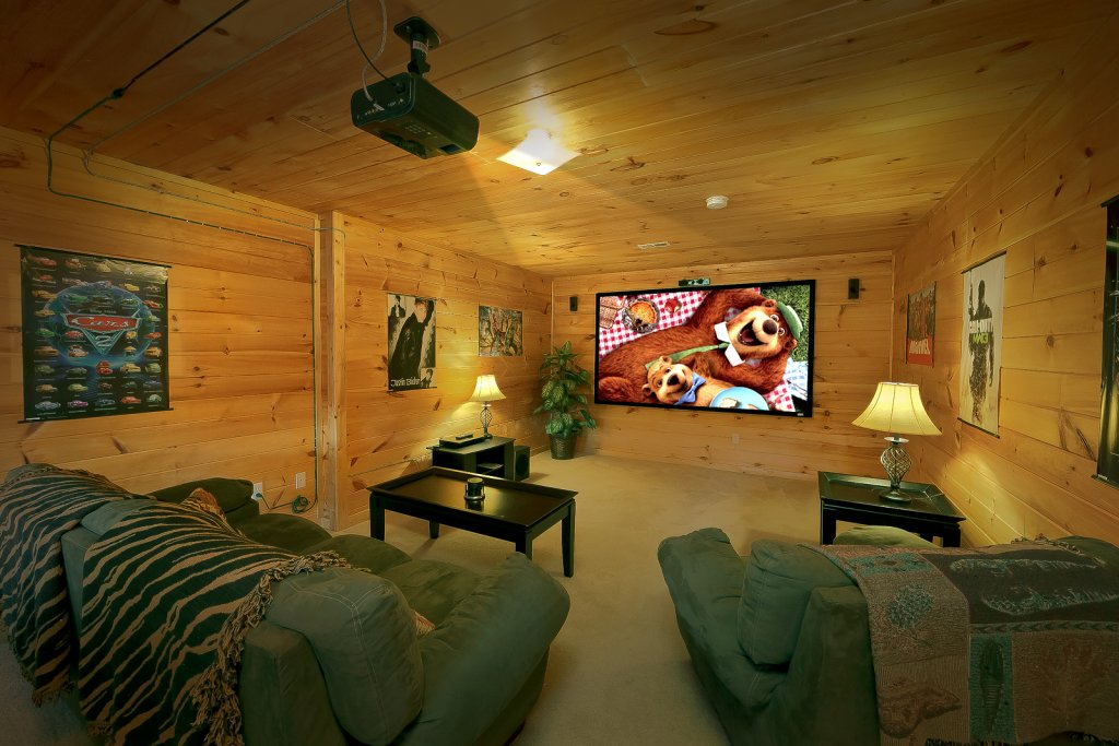 Photo of a Sevierville Cabin named Private Paradise #2810 - This is the second photo in the set.