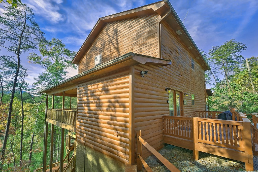 Photo of a Sevierville Cabin named Private Paradise #2810 - This is the first photo in the set.