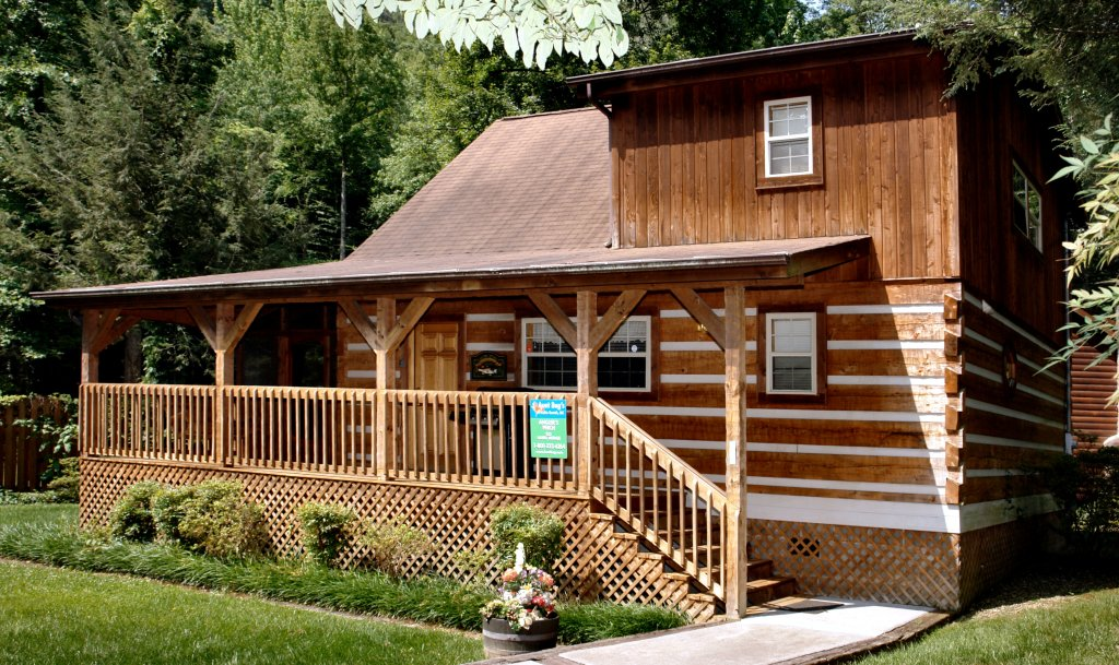 Photo of a Gatlinburg Cabin named Angler's Perch #2523 - This is the twenty-first photo in the set.