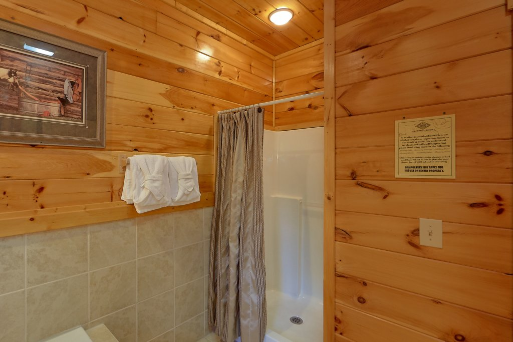 Photo of a Gatlinburg Cabin named Buckwild - This is the twenty-eighth photo in the set.