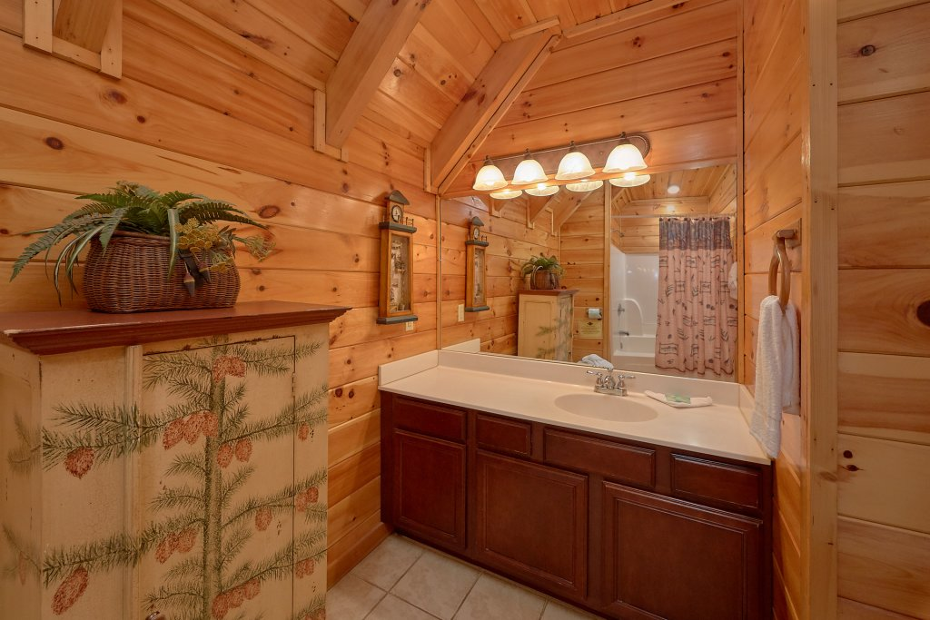 Photo of a Gatlinburg Cabin named Buckwild - This is the twenty-ninth photo in the set.