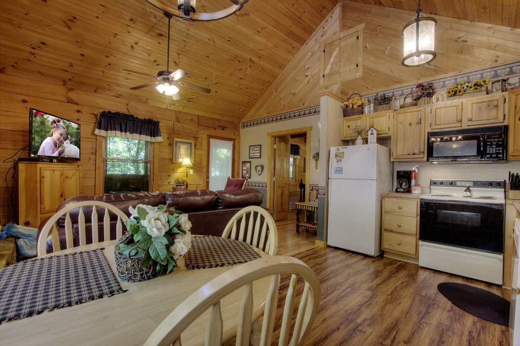 Photo of a Sevierville Cabin named Americana #115 - This is the fifth photo in the set.