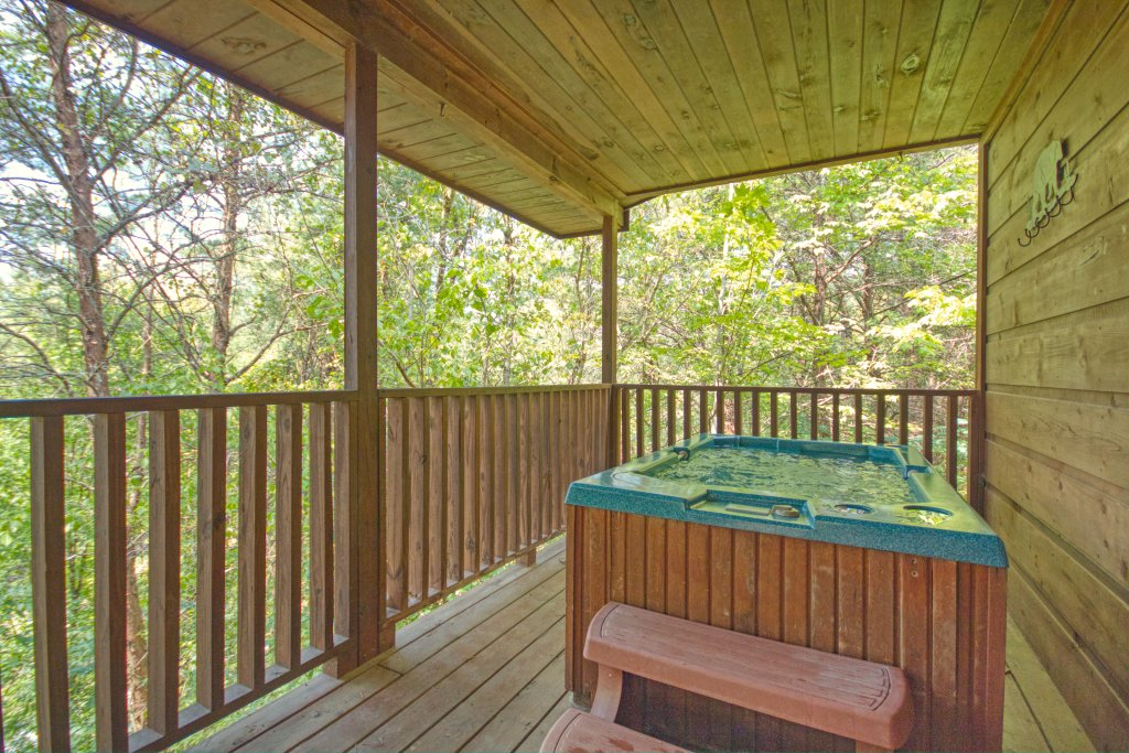 Photo of a Sevierville Cabin named Dream Maker #120 - This is the eighteenth photo in the set.