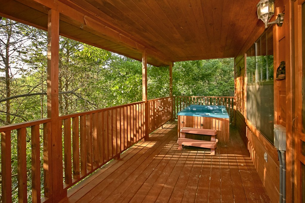 Photo of a Sevierville Cabin named Dream Maker #120 - This is the thirty-fourth photo in the set.