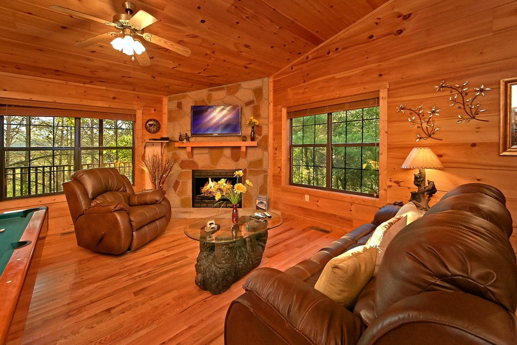 Photo of a Sevierville Cabin named Dream Maker #120 - This is the twenty-sixth photo in the set.
