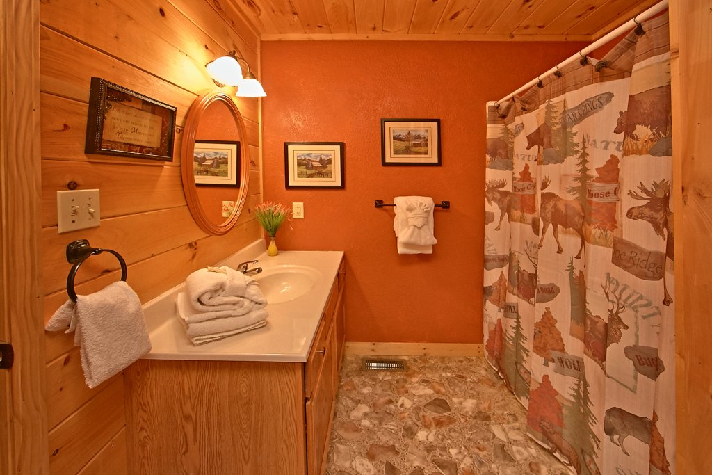 Photo of a Sevierville Cabin named Dream Maker #120 - This is the thirtieth photo in the set.