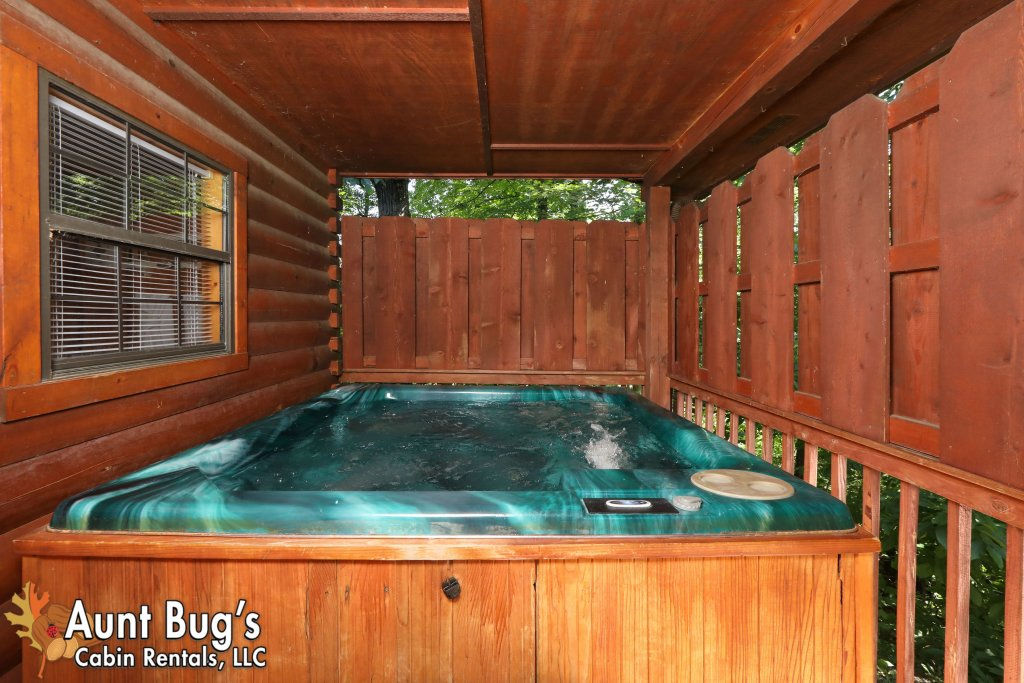 Photo of a Pigeon Forge Cabin named Sun-sational View #245 - This is the thirty-ninth photo in the set.