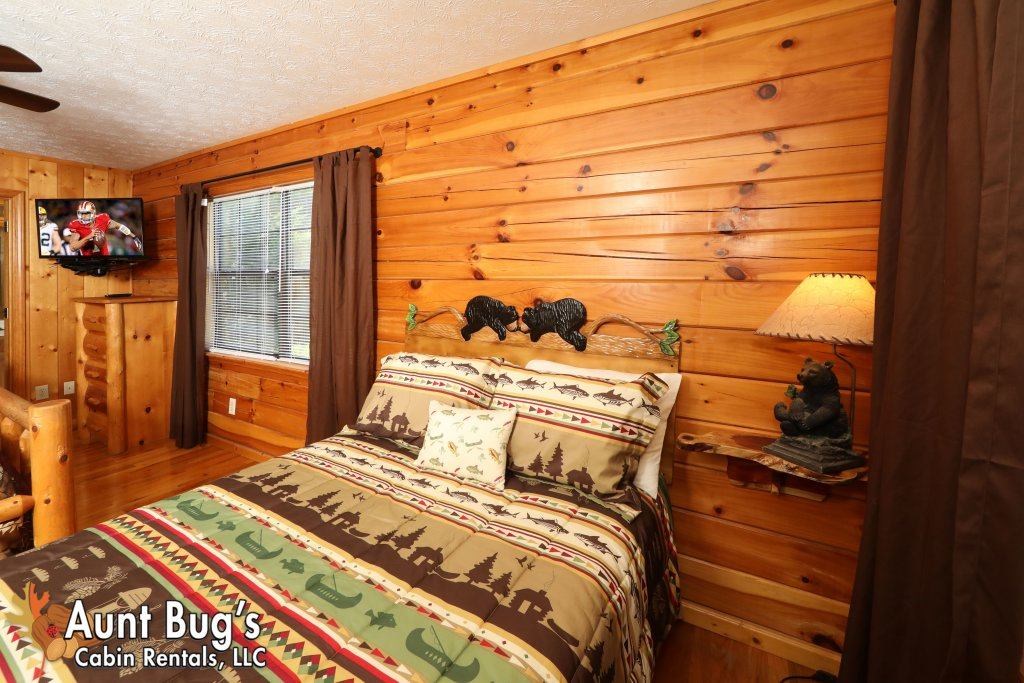 Photo of a Pigeon Forge Cabin named Sun-sational View #245 - This is the twentieth photo in the set.