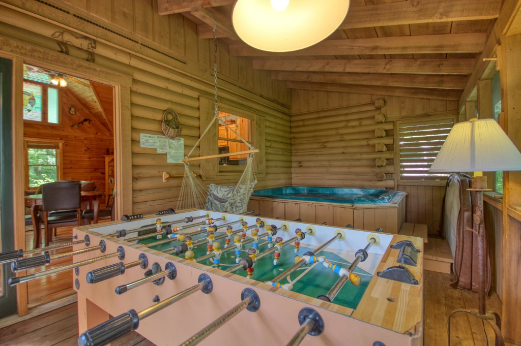 Photo of a Sevierville Cabin named Tonto's Tee Pee #123 - This is the twelfth photo in the set.