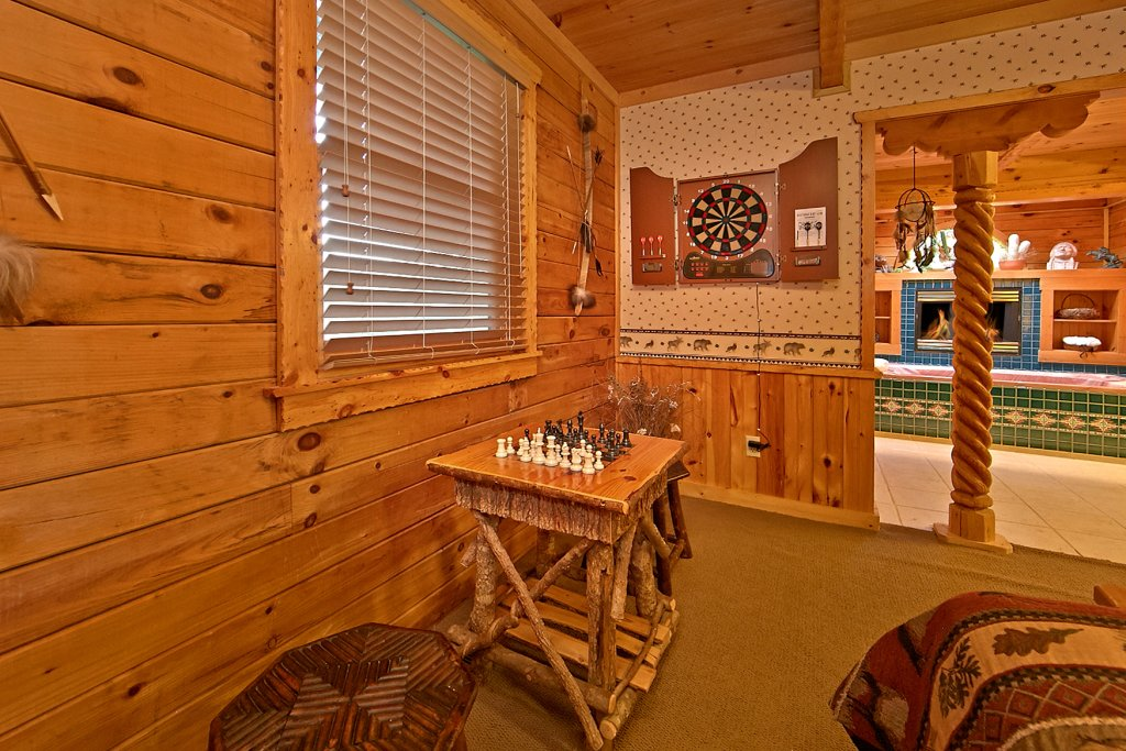 Photo of a Sevierville Cabin named Tonto's Tee Pee #123 - This is the twenty-fourth photo in the set.