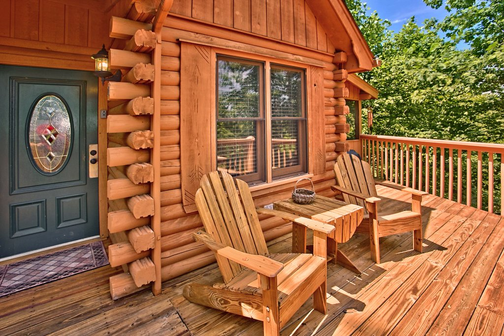 Photo of a Sevierville Cabin named Tonto's Tee Pee #123 - This is the seventeenth photo in the set.