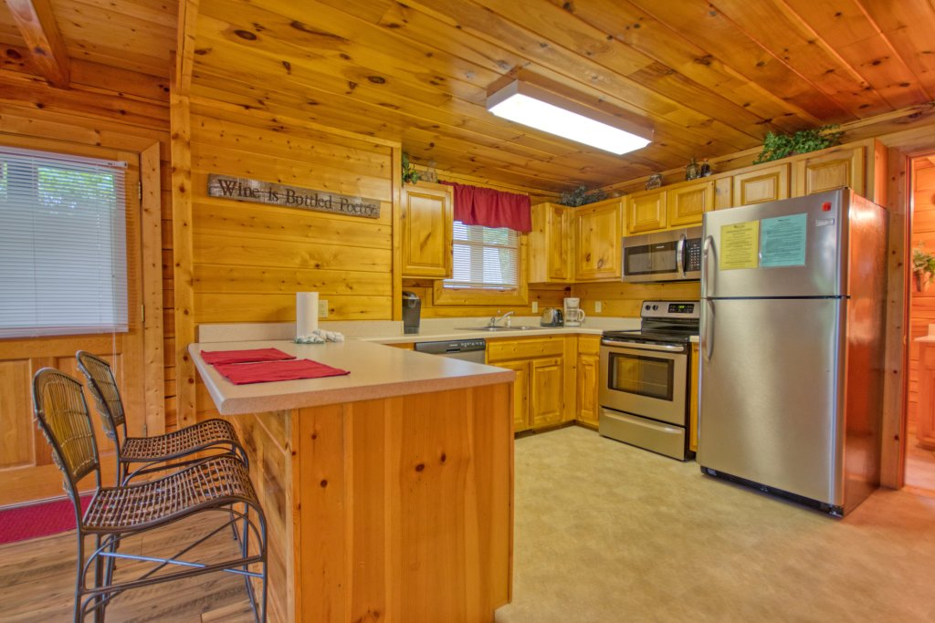 Photo of a Pigeon Forge Cabin named Buddy Bear #249 - This is the ninth photo in the set.
