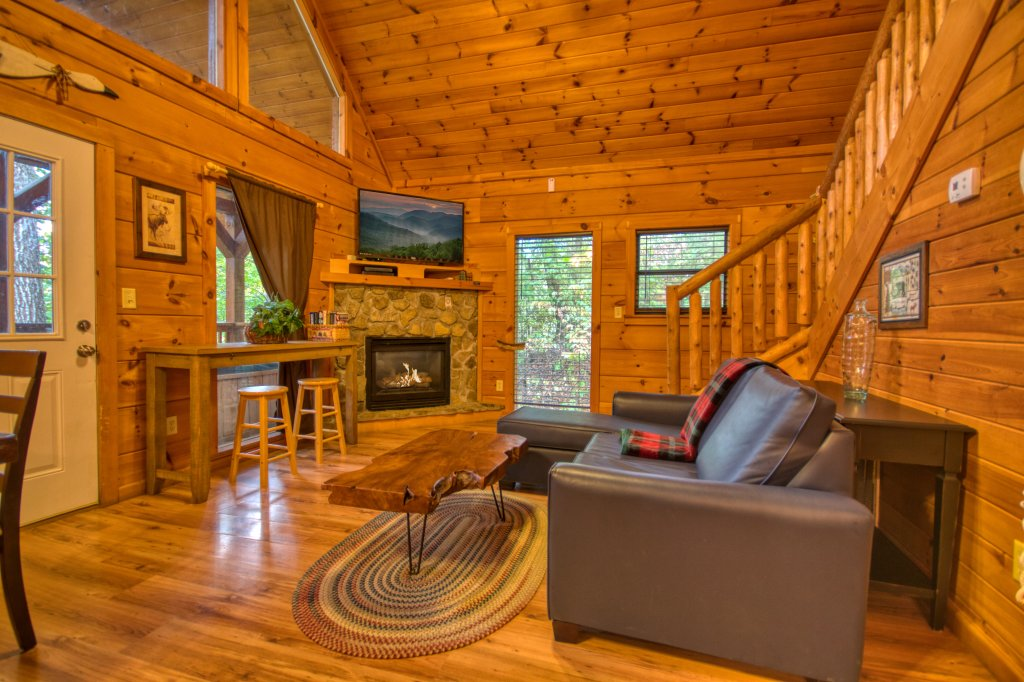 Photo of a Pigeon Forge Cabin named Beneath The Stars #220 - This is the third photo in the set.