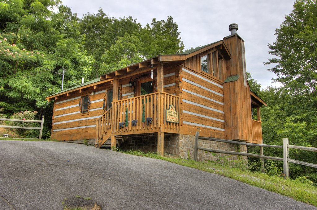Photo of a Sevierville Cabin named Apple Bear View #116 - This is the first photo in the set.