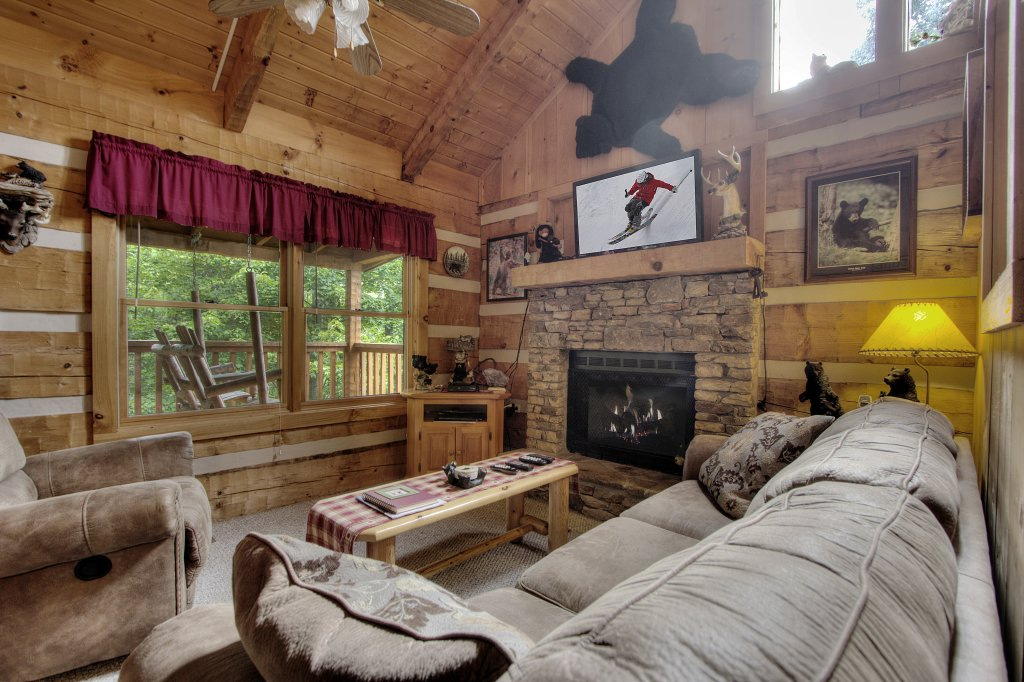 Photo of a Sevierville Cabin named Apple Bear View #116 - This is the tenth photo in the set.