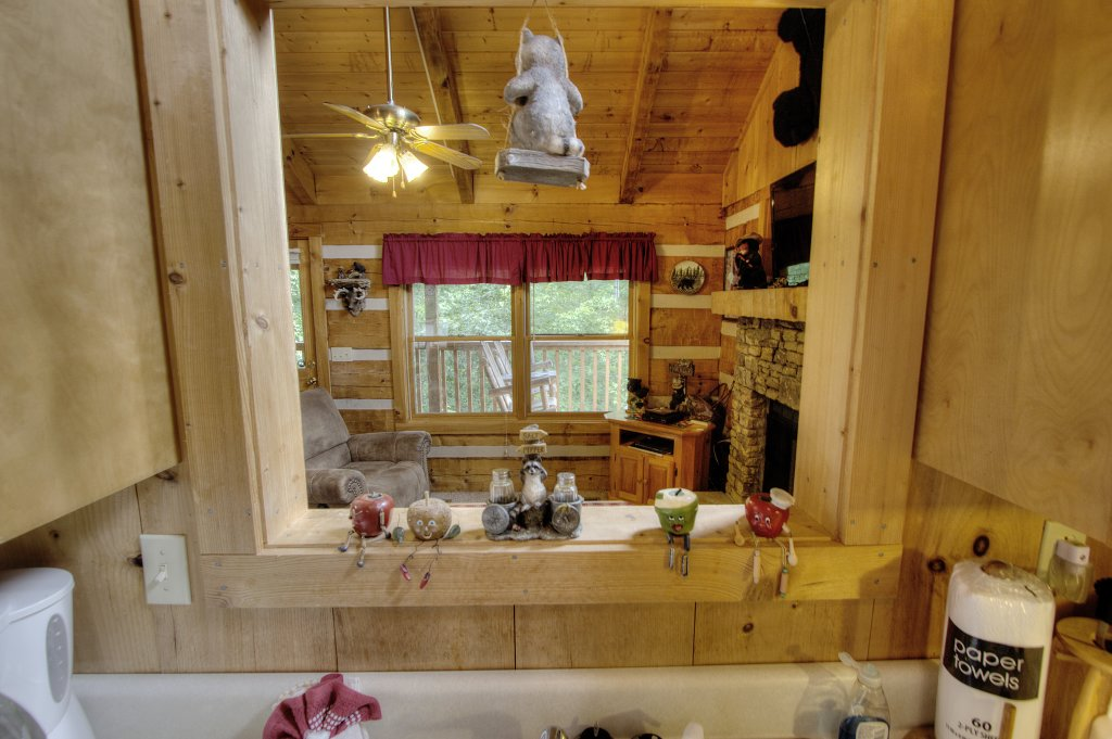 Photo of a Sevierville Cabin named Apple Bear View #116 - This is the thirty-third photo in the set.