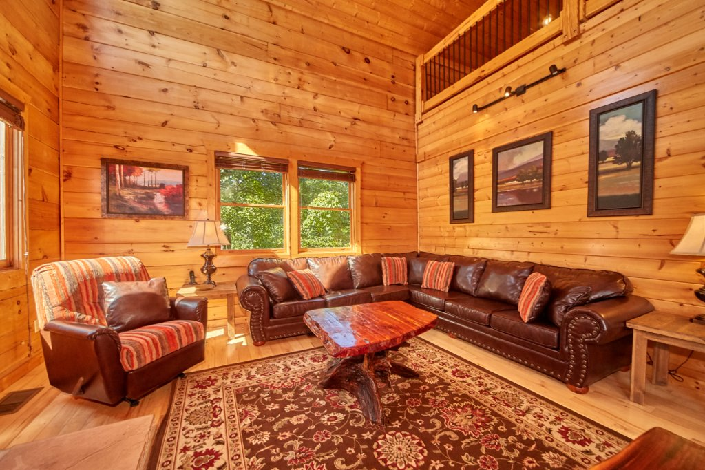 Photo of a Gatlinburg Cabin named A Grand View Lodge #540 - This is the eighth photo in the set.