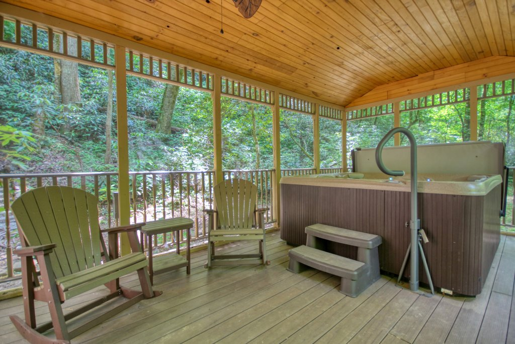 Photo of a Sevierville Cabin named The Promise At Cool Creek #130 - This is the fifteenth photo in the set.
