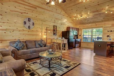 Knotty By Nature, 2 Bedroom, Hot Tub, Secluded, Wifi, Flat Panels, Sleeps 6