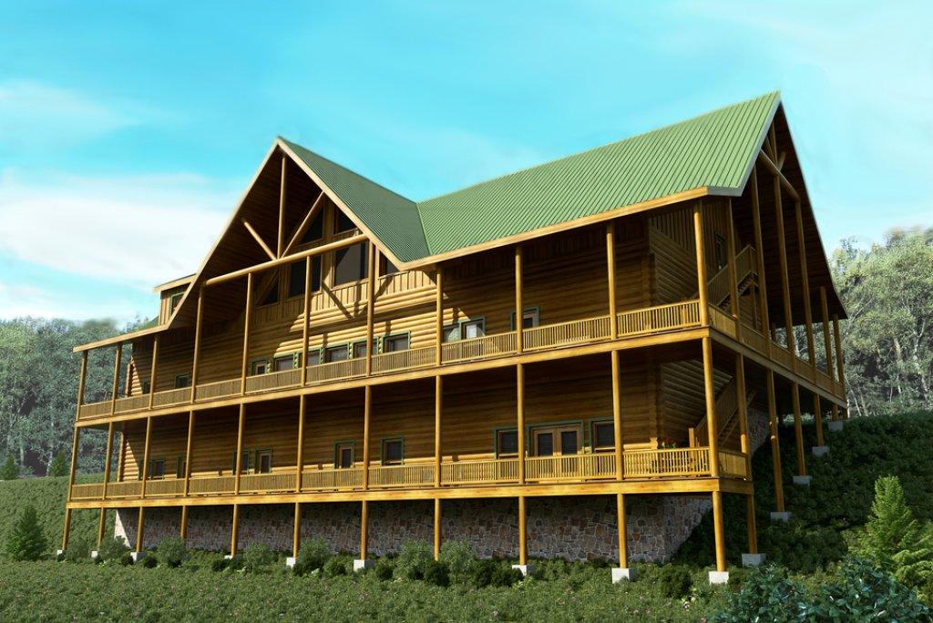 Photo of a Pigeon Forge Cabin named Sherwood Splash Lodge - This is the thirty-sixth photo in the set.