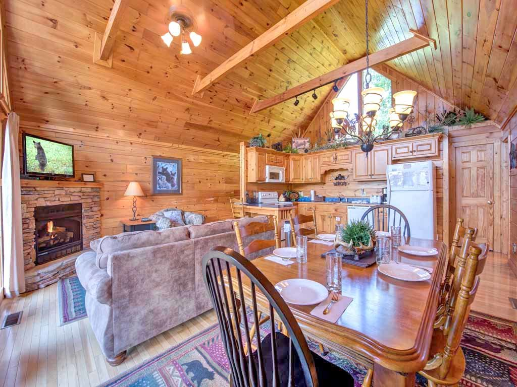 Photo of a Gatlinburg Cabin named Fireside View - This is the fourth photo in the set.