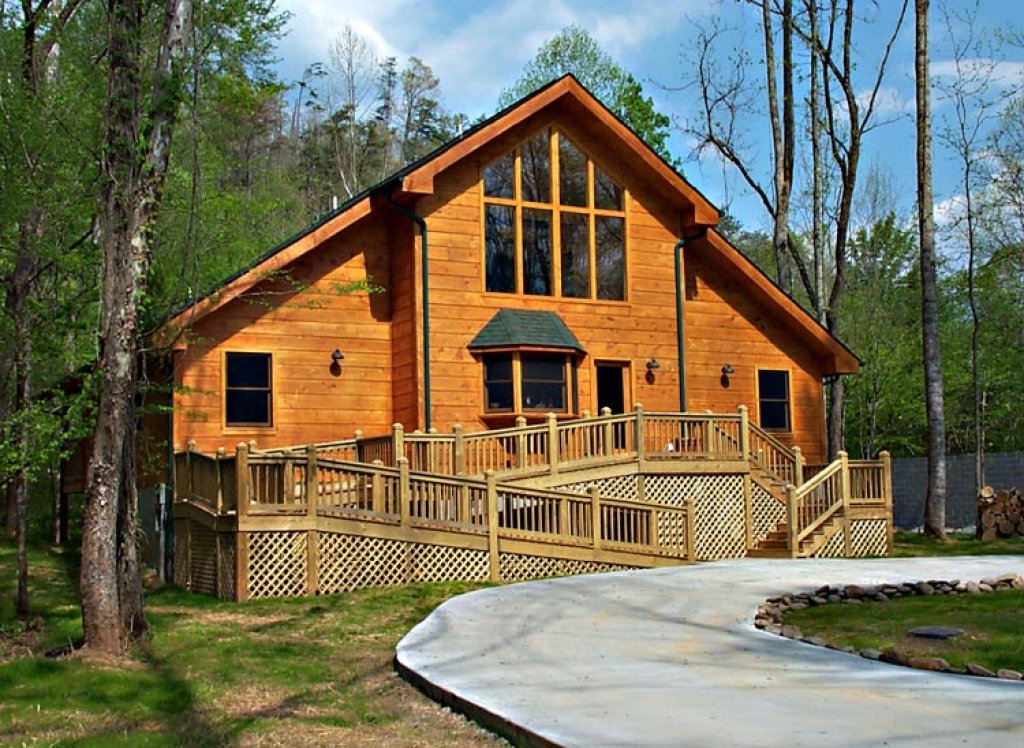 Photo of a Sevierville Cabin named Rivers Edge - This is the twenty-second photo in the set.