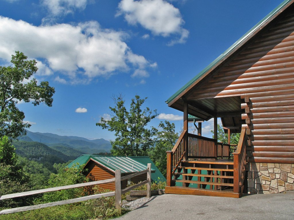 Photo of a Gatlinburg Cabin named Fireside View - This is the twentieth photo in the set.