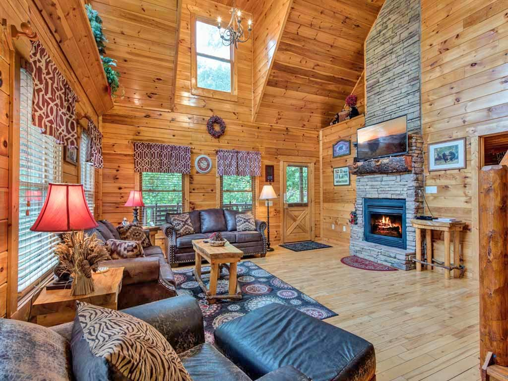 Photo of a Sevierville Cabin named Makin Memories - This is the first photo in the set.