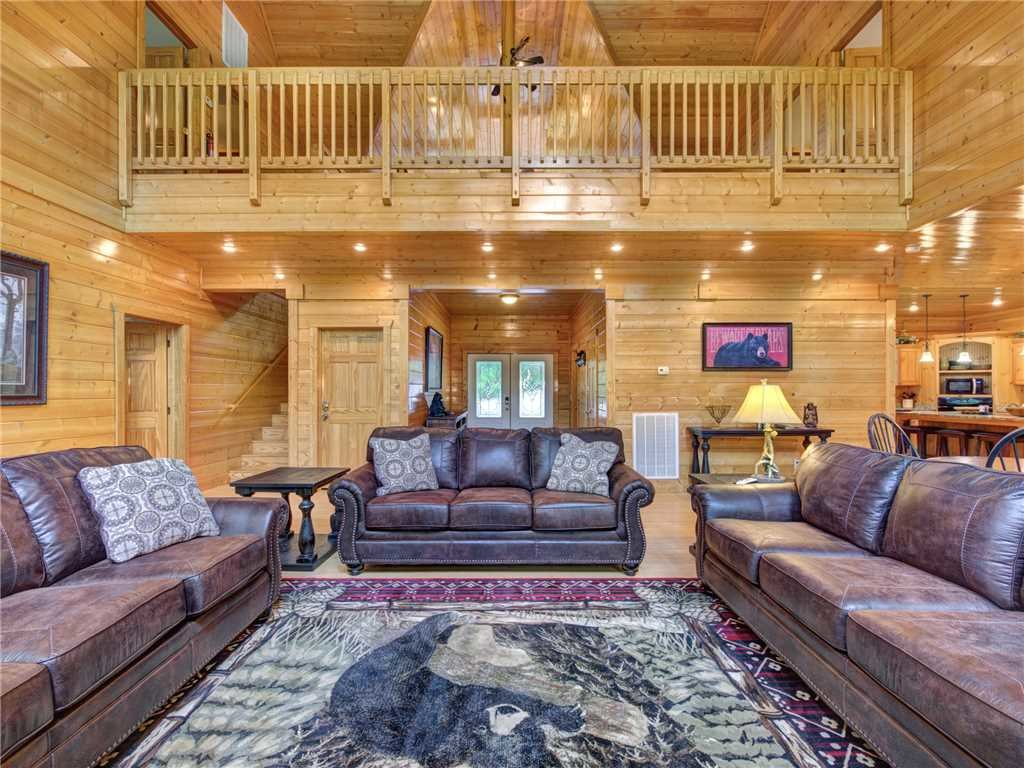 Photo of a Gatlinburg Cabin named Unbridled Spirit - This is the sixth photo in the set.