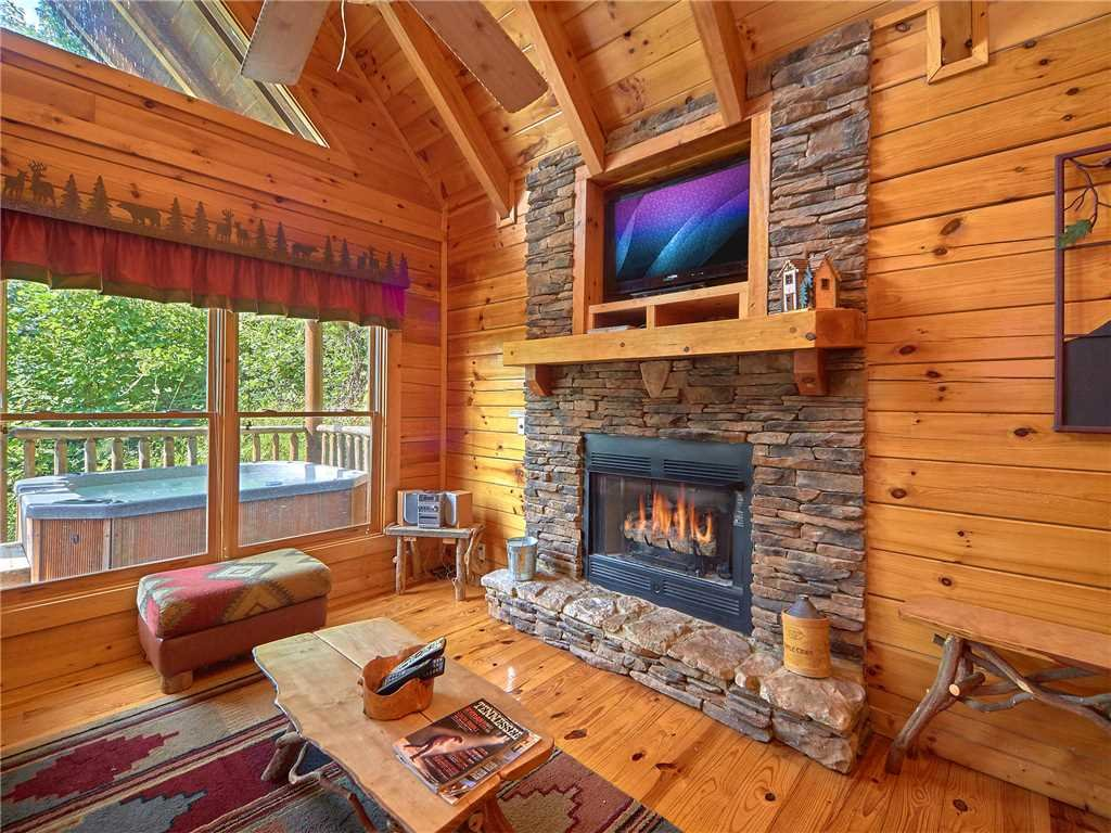 Photo of a Sevierville Cabin named Close To Heaven - This is the fourth photo in the set.